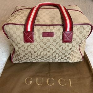 GUCCI TRAVEL DUFFLE BAG